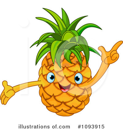 Pineapple Clipart #1093915 by Pushkin