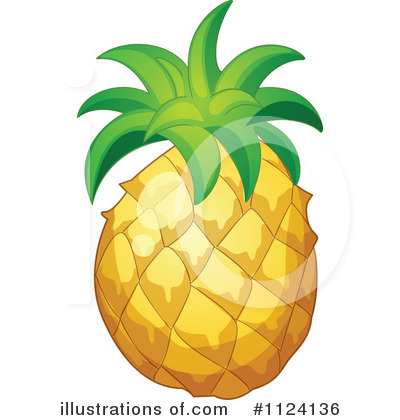 Pineapple Clipart #1124136 by Graphics RF