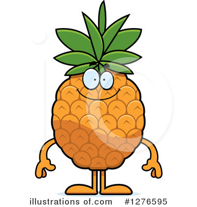 Pineapple Clipart #1276595 by Cory Thoman