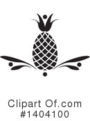Pineapple Clipart #1404100 by inkgraphics