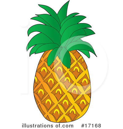 Pineapple Clipart #17168 by Maria Bell