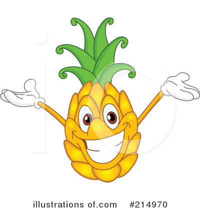 Pineapple Clipart #214970 by yayayoyo