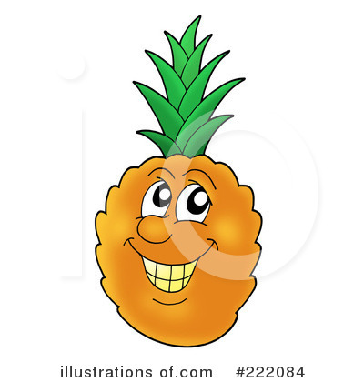 Pineapple Clipart #222084 by visekart