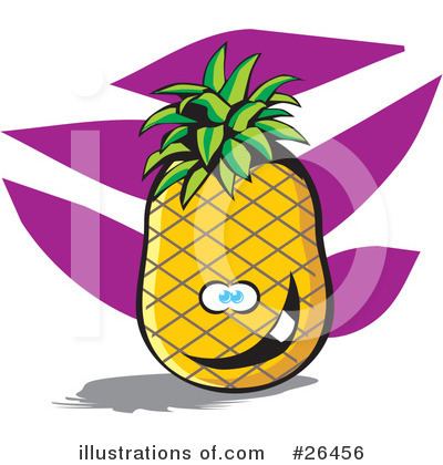 Pineapple Clipart #26456 by David Rey