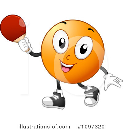 Ping Pong Clipart #1097320 by BNP Design Studio
