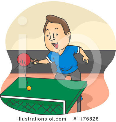 Ping Pong Clipart #1176826 by BNP Design Studio
