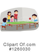 Ping Pong Clipart #1260030 by BNP Design Studio