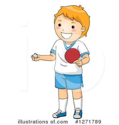 Ping Pong Clipart #1271789 by BNP Design Studio