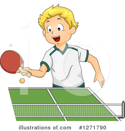 Ping Pong Clipart #1271790 by BNP Design Studio