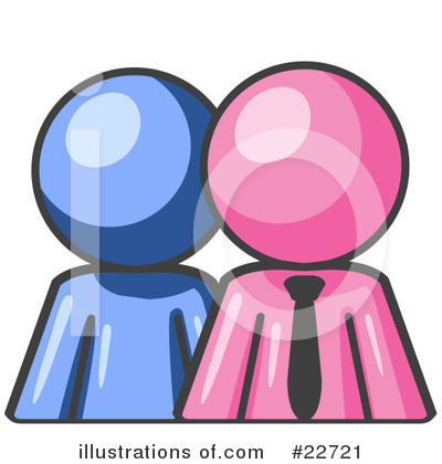 Royalty-Free (RF) Pink Collection Clipart Illustration by Leo Blanchette - Stock Sample #22721