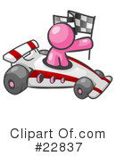 Royalty-Free (RF) pink collection Clipart Illustration #22837
