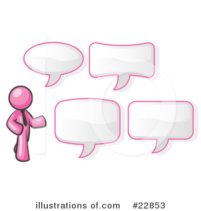 Pink Collection Clipart #22853 by Leo Blanchette