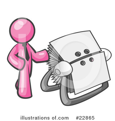 Pink Collection Clipart #22865 by Leo Blanchette