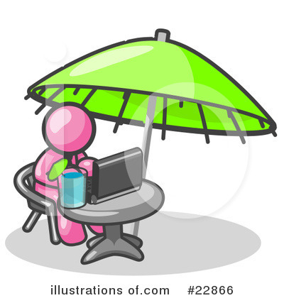 Royalty-Free (RF) Pink Collection Clipart Illustration by Leo Blanchette - Stock Sample #22866