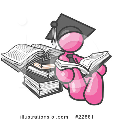 Royalty-Free (RF) Pink Collection Clipart Illustration by Leo Blanchette - Stock Sample #22881