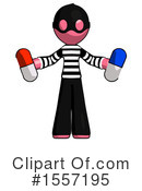 Pink Design Mascot Clipart #1557195 by Leo Blanchette