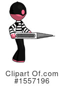 Pink Design Mascot Clipart #1557196 by Leo Blanchette