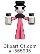 Pink Design Mascot Clipart #1565935 by Leo Blanchette