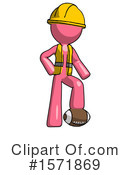 Pink Design Mascot Clipart #1571869 by Leo Blanchette