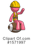 Pink Design Mascot Clipart #1571997 by Leo Blanchette