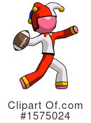 Pink Design Mascot Clipart #1575024 by Leo Blanchette