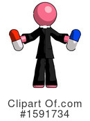 Pink Design Mascot Clipart #1591734 by Leo Blanchette