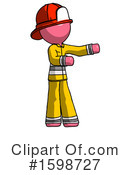 Pink Design Mascot Clipart #1598727 by Leo Blanchette