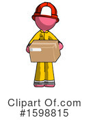 Pink Design Mascot Clipart #1598815 by Leo Blanchette