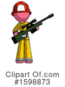 Pink Design Mascot Clipart #1598873 by Leo Blanchette