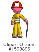 Pink Design Mascot Clipart #1598896 by Leo Blanchette