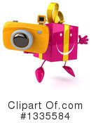 Pink Gift Character Clipart #1335584