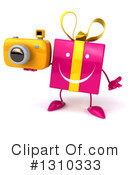 Pink Gift Clipart #1310333 by Julos