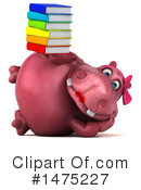Pink Hippo Clipart #1475227 by Julos