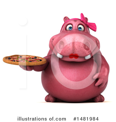Hippo Clipart #1481984 by Julos