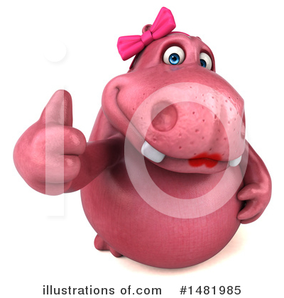 Hippo Clipart #1481985 by Julos