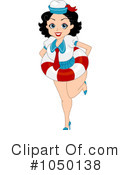 Royalty-Free (RF) pinup Clipart Illustration #1050138