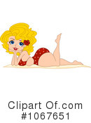 Royalty-Free (RF) pinup Clipart Illustration #1067651