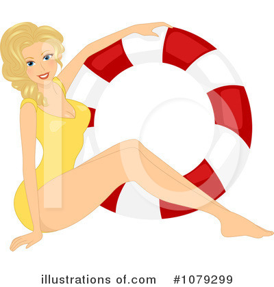 Pinup Clipart #1079299 by BNP Design Studio