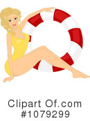 Royalty-Free (RF) pinup Clipart Illustration #1079299