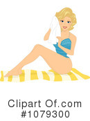 Royalty-Free (RF) pinup Clipart Illustration #1079300