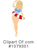 Royalty-Free (RF) pinup Clipart Illustration #1079301