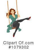 Royalty-Free (RF) pinup Clipart Illustration #1079302