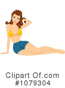 Royalty-Free (RF) pinup Clipart Illustration #1079304