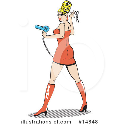 Pinup Clipart #14848 by Andy Nortnik