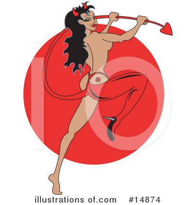 She Devil Clipart #14874 by Andy Nortnik