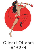 Royalty-Free (RF) pinup Clipart Illustration #14874