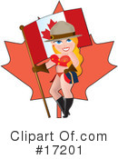 Royalty-Free (RF) pinup Clipart Illustration #17201