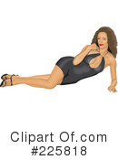 Pinup Clipart #225818 by David Rey