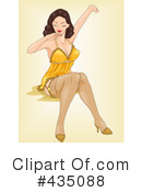 Pinup Clipart #435088