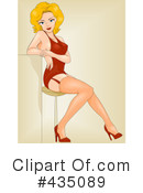 Royalty-Free (RF) pinup Clipart Illustration #435089